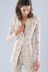 Drexcode - Ivory lace suit with sequins - Forever unique - Sale - 5