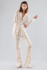Drexcode - Ivory lace suit with sequins - Forever unique - Sale - 7