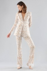 Drexcode - Ivory lace suit with sequins - Forever unique - Rent - 2