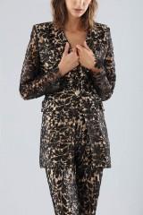 Drexcode - Black lace suit with sequins - Forever unique - Rent - 3