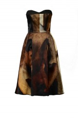 Drexcode - Bustier dress with print - Giles - Rent - 7