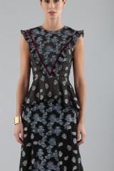Drexcode - Top and skirt with brocaded pattern - Erdem - Sale - 6