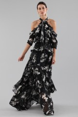 Drexcode - Top and skirt with floral pattern - Erdem - Rent - 2
