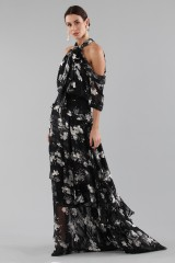 Drexcode - Top and skirt with floral pattern - Erdem - Rent - 4