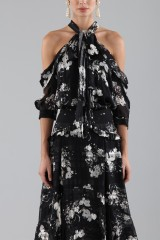Drexcode - Top and skirt with floral pattern - Erdem - Rent - 3