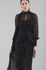 Drexcode - Top and skirt with colorful microplumetis - Erdem - Rent - 5