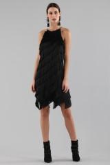 Drexcode - Mini-dress with fringes - Halston - Rent - 1