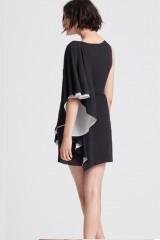 Drexcode - Short color block dress - Halston - Rent - 6
