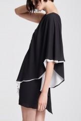 Drexcode - Short color block dress - Halston - Rent - 3
