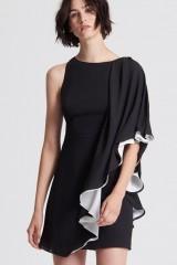 Drexcode - Short color block dress - Halston - Rent - 2