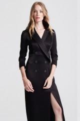 Drexcode - Long tuxedo dress - Halston - Rent - 6