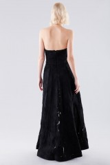 Drexcode - Bustier jumpsuit with overlaid skirt - Halston - Rent - 3