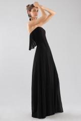 Drexcode - Black bustier jumpsuit - Halston - Rent - 3