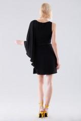 Drexcode - Short color block dress - Halston - Rent - 4