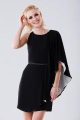 Drexcode - Short color block dress - Halston - Rent - 1
