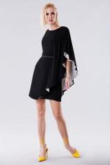 Drexcode - Short color block dress - Halston - Rent - 5