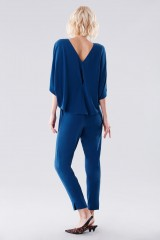 Drexcode - Jumpsuit with rouches on the back - Halston - Rent - 2