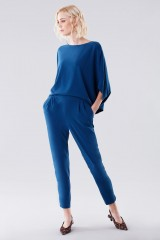 Drexcode - Jumpsuit with rouches on the back - Halston - Rent - 3