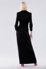 Drexcode - Long tuxedo dress - Halston - Rent - 3