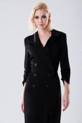 Drexcode - Long tuxedo dress - Halston - Rent - 2