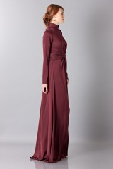 Drexcode - Silk dress with back neckline - Vionnet - Rent - 6
