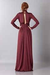 Drexcode - Silk dress with back neckline - Vionnet - Rent - 3