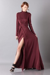 Drexcode - Silk dress with back neckline - Vionnet - Rent - 5