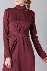 Drexcode - Silk dress with back neckline - Vionnet - Rent - 7