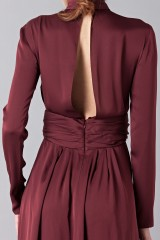 Drexcode - Silk dress with back neckline - Vionnet - Rent - 8