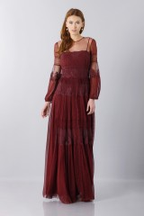Drexcode -  Lace dress with transparencies - Alberta Ferretti - Rent - 3