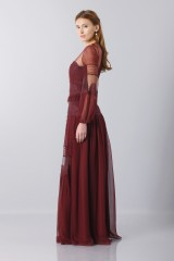 Drexcode -  Lace dress with transparencies - Alberta Ferretti - Rent - 6