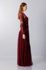 Drexcode -  Lace dress with transparencies - Alberta Ferretti - Rent - 5