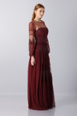 Drexcode -  Lace dress with transparencies - Alberta Ferretti - Rent - 4