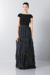 Drexcode - Floor lenght dress with finished skirt - Theia - Rent - 1