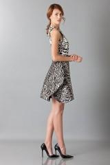 Drexcode - Sleeveless jacquard dress  - Giambattista Valli - Rent - 3