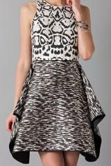 Drexcode - Sleeveless jacquard dress  - Giambattista Valli - Rent - 4