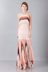 Drexcode -  Striped floor-length dress - Blumarine - Rent - 4
