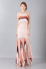 Drexcode -  Striped floor-length dress - Blumarine - Sale - 4