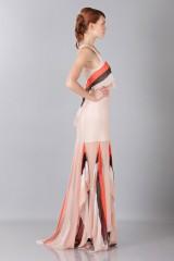 Drexcode -  Striped floor-length dress - Blumarine - Sale - 6