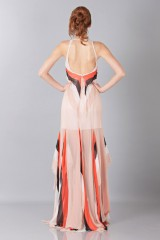 Drexcode -  Striped floor-length dress - Blumarine - Rent - 2