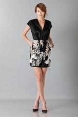 Drexcode - Embroidered black dress - Blumarine - Sale - 1