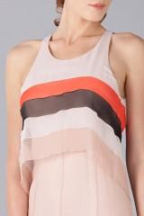 Drexcode -  Striped floor-length dress - Blumarine - Sale - 7