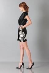 Drexcode - Embroidered black dress - Blumarine - Sale - 3