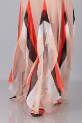 Drexcode - Striped floor-length dress - Blumarine - Rent - 8