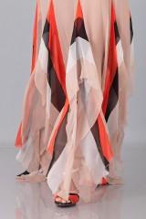 Drexcode -  Striped floor-length dress - Blumarine - Sale - 8