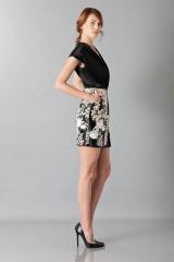 Drexcode - Embroidered black dress - Blumarine - Sale - 4