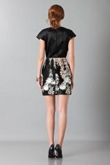 Drexcode - Embroidered black dress - Blumarine - Sale - 2