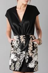 Drexcode - Embroidered black dress - Blumarine - Sale - 6