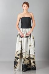 Drexcode - Long bustier dress - Alberta Ferretti - Rent - 1
