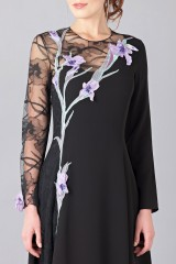 Drexcode - Lace embroidered dress - Nina Ricci - Rent - 6